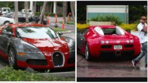Chris Brown 1.7 Million Bugatti Veyron