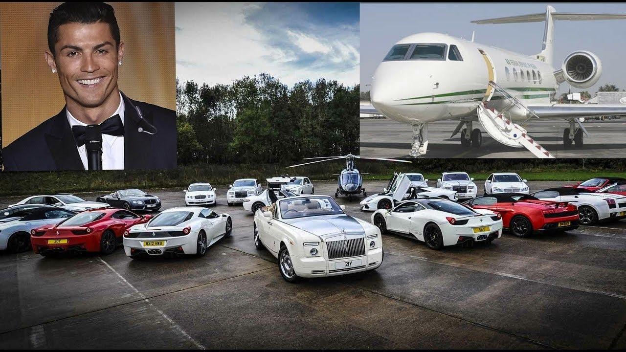 Cristiano Ronaldo's Supercar & Jet Collection - Peek at ...