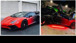 Chris Brown Lamborghini Gallardo