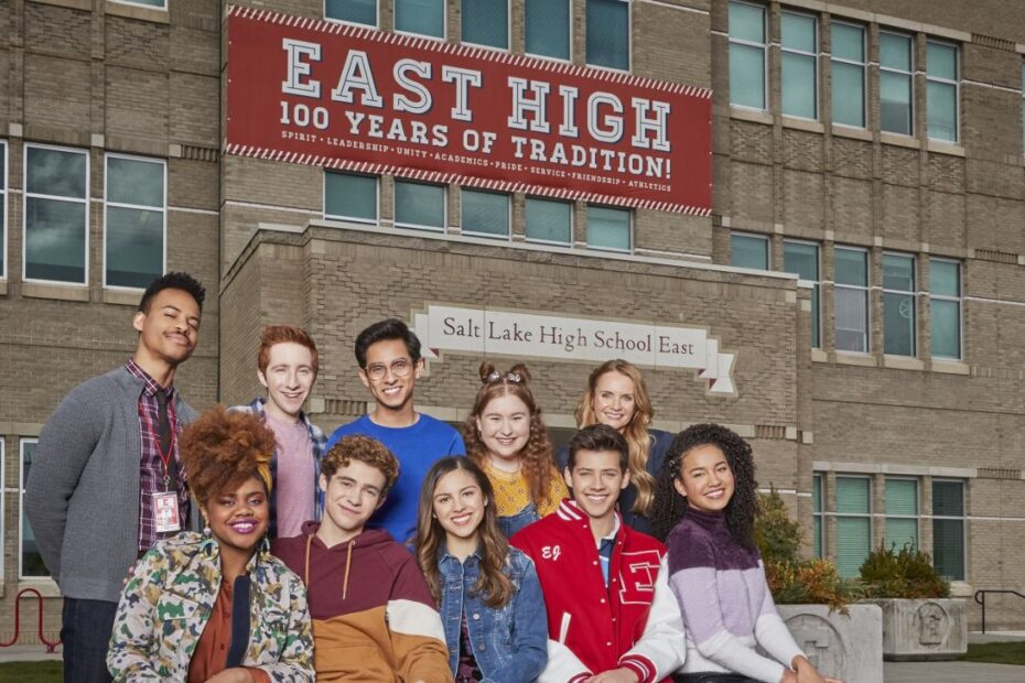 High School: The Musical ShootingLocation
