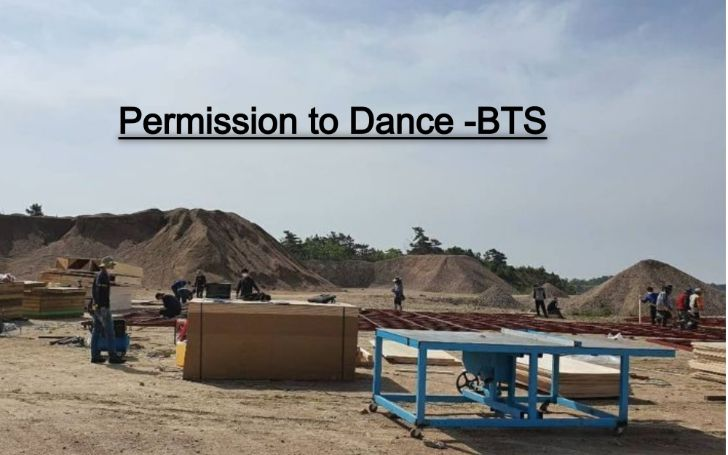 BTS Permission to Dance shooting location